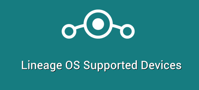 lineage OS supported devices
