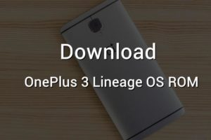 oneplus 3 lineage os rom