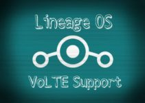 Lineage OS VoLTE Support